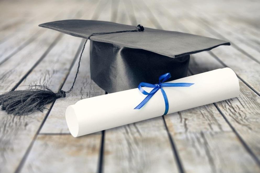 Diplome et toque